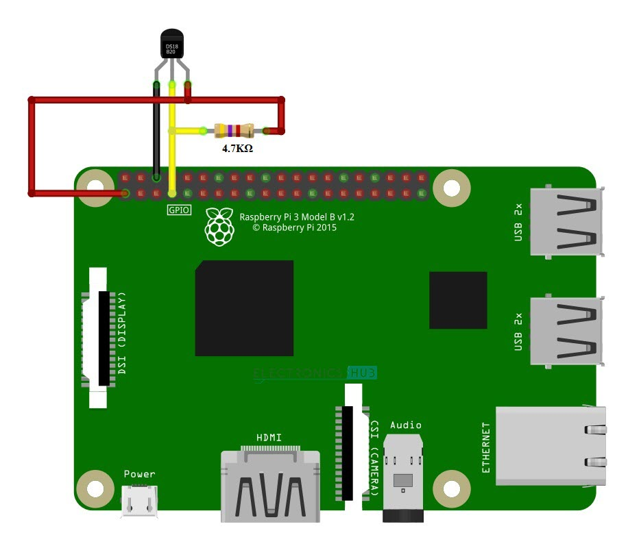 Raspberry Pi DS18B20 Tutorial | Basic Interface & Web IoT based Monitor