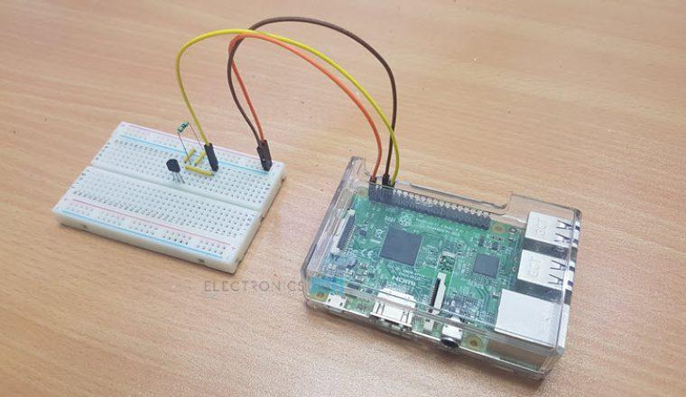 Raspberry Pi DS18B20 Temperature Sensor Image 1