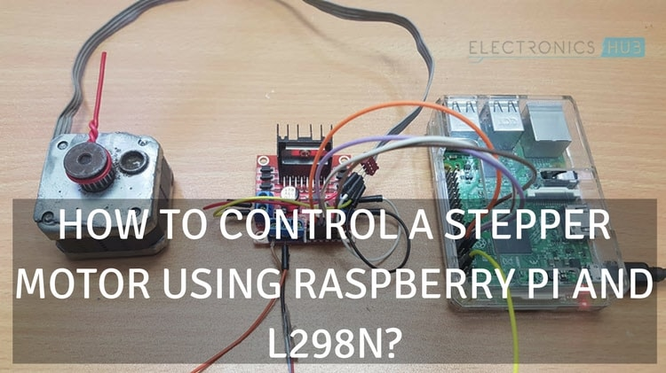 Raspberry Pi Stepper Motor Control Using L298n