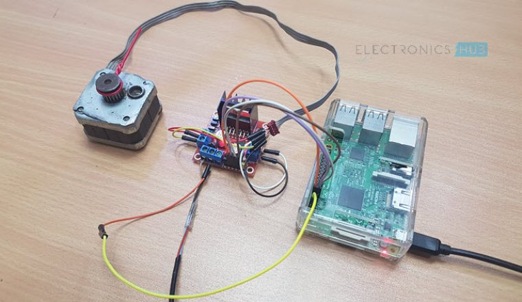 Raspberry pi stepper motor control using l298n for How to control a servo motor with raspberry pi