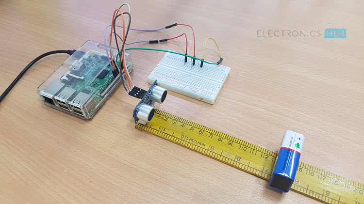 Raspberry Pi Ultrasonic Sensor Interface Image 1