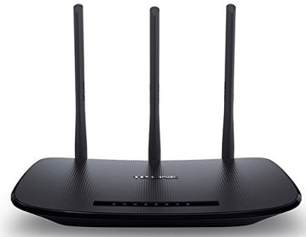 TP-Link N450 Wireless Wi-Fi Router, Up to 450Mbps