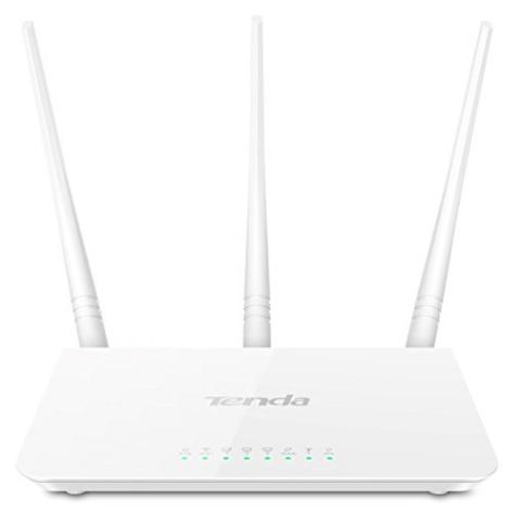 Tenda N300 Wireless Wi-Fi Router with High Power 5dBi Antennas