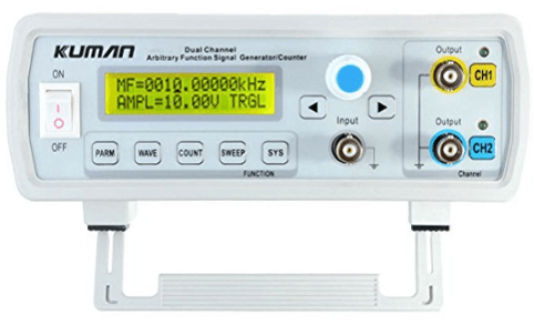 kuman 24MHz Dual-channel DDS Function Signal Generator