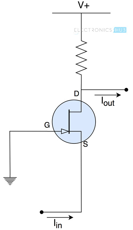 Current Amplifiers and Buffers Current Buffer Circuit Diagram