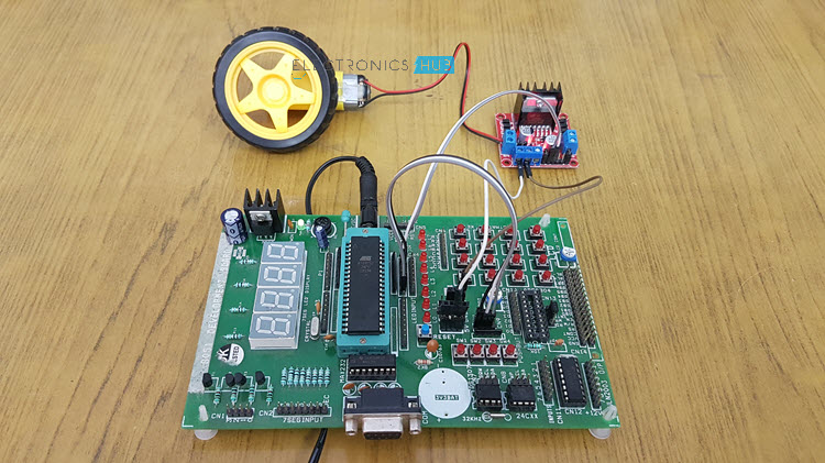 Interfacing DC Motor with 8051 Microcontroller using L298N Image 2