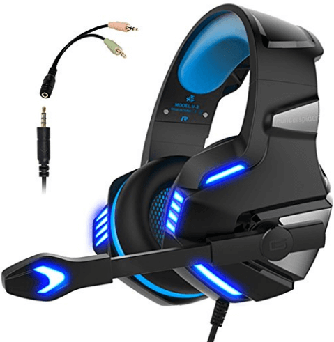 Micolindun Gaming Headset for PS4 Xbox One