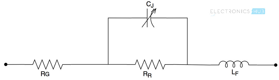 varactor diode equivalent circuit