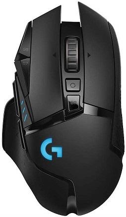 logitech lightspeed wireless gaming mouse