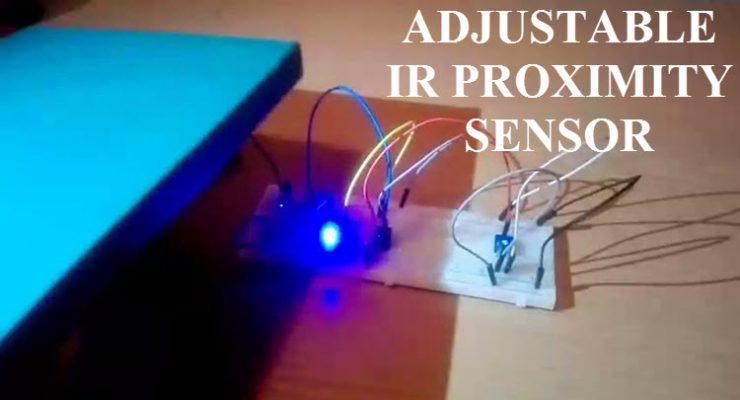 Adjustable IR Proximity Sensor