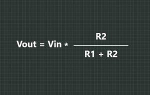 Adjustable IR Proximity Sensor Voltage Divider Formula