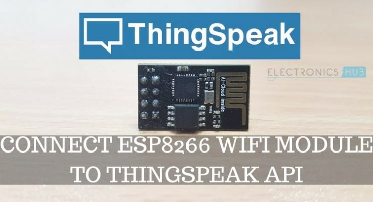 Connect ESP8266 to ThingSpeak