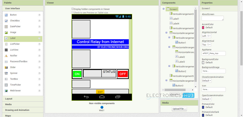 Control a Relay From Anywhere in the World using ESP8266