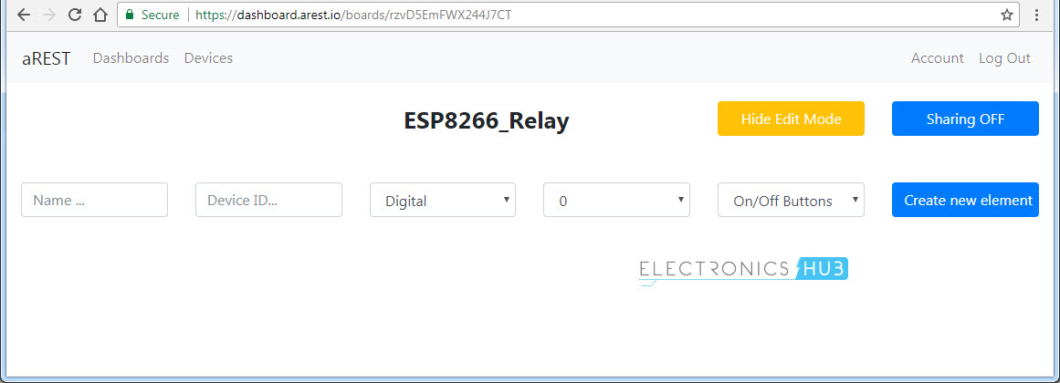 Control a Relay from anywhere in the World using ESP8266 aREST Image 2