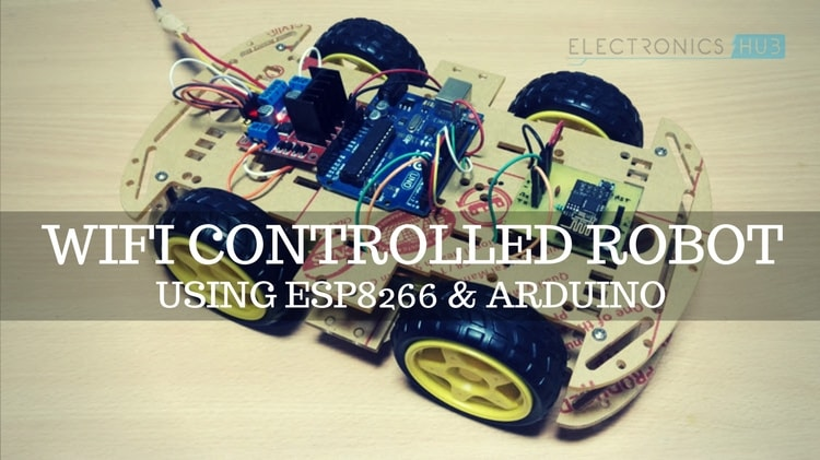 WiFi Controlled Robot Featured Image