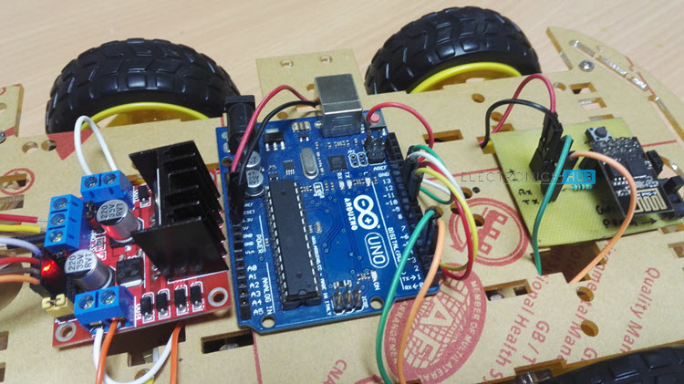 WiFi Controlled Robot Image 1
