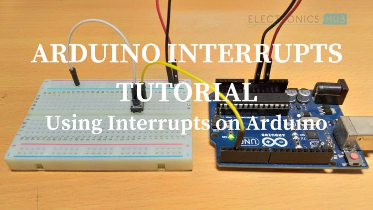 Arduino Interrupts Tutorial - Using Interrupts on Arduino