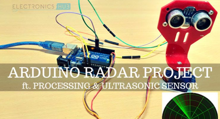 Electronics hub latest free electronics projects and circuits arduino radar project solutioingenieria Images