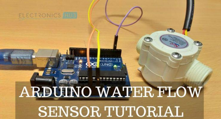 Arduino Water Flow Sensor Interface – Hookup Guide & Tutorial