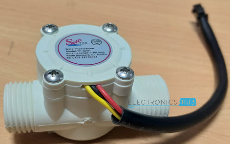Arduino Water Flow Sensor Interface - Hookup Guide & Tutorial