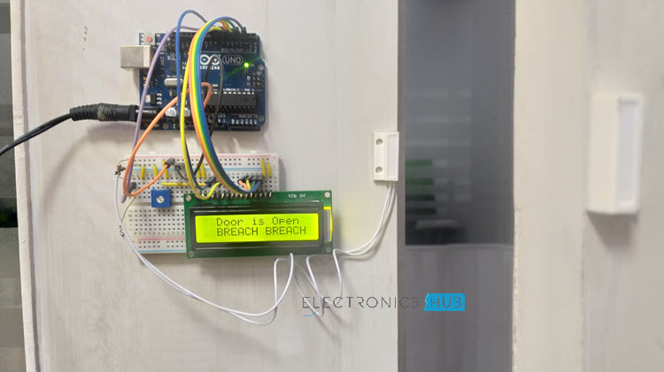 Arduino based Door Monitoring System using Reed Switch Image 2