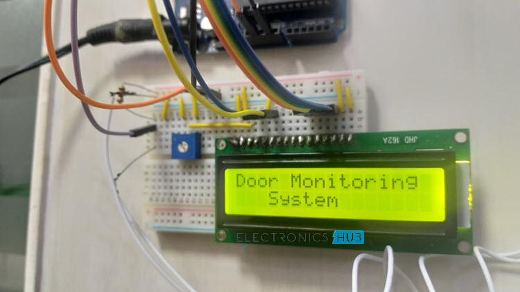 Arduino based Door Monitoring System using Reed Switch Image 4