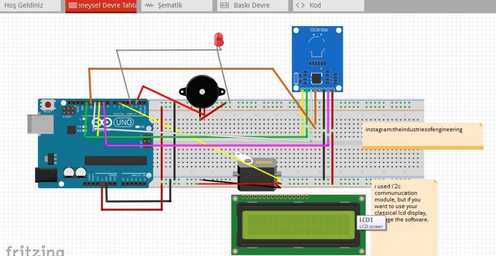 Encrypted Login System Circuit Diagram