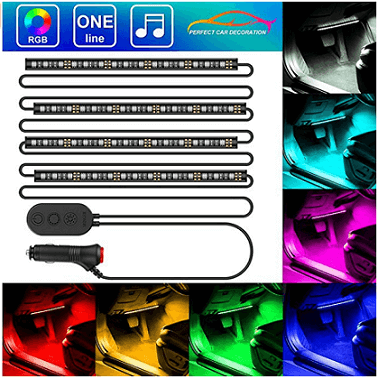 MINGER One-Line Car Interior Lights
