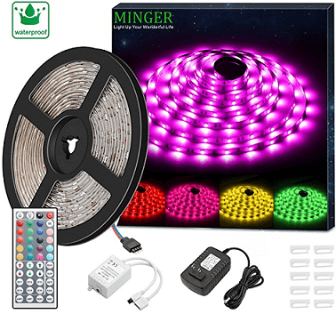 MINGER RGB LED Strip Lights