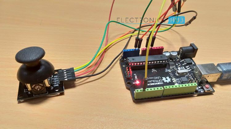 Arduino Joystick Interface Interfacing Joystick with Arduino