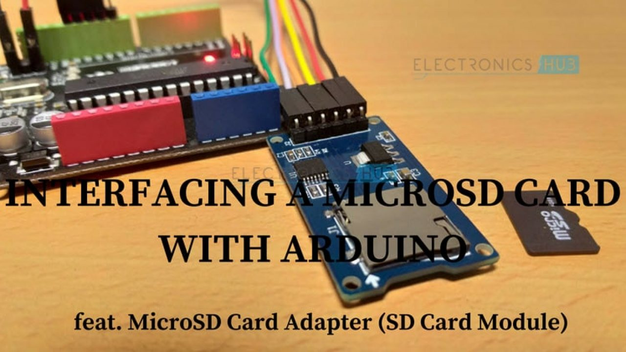 Arduino SD Card Module Interface - Hook-up Guide and Data