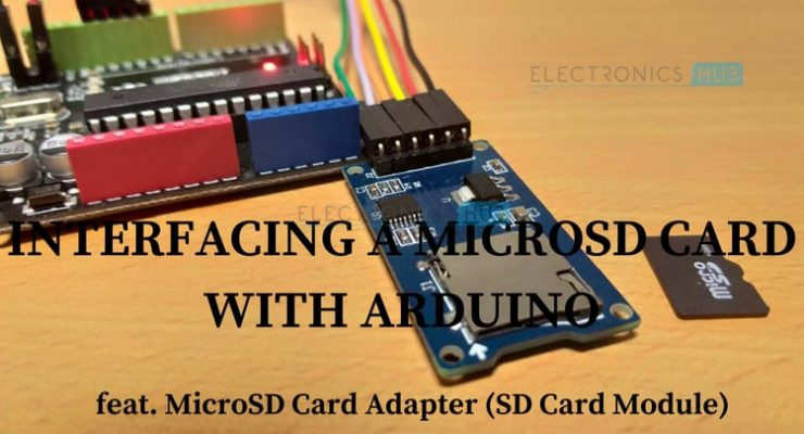 Arduino SD Card Module Interface – Hook-up Guide and Data Logging