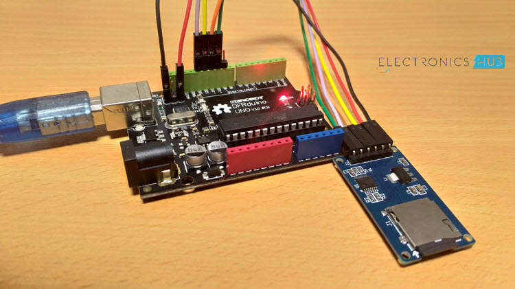 Arduino SD Card Module Interface - Hook-up Guide and Data Logging