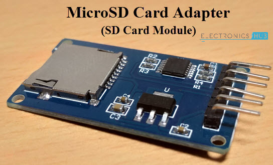 Arduino SD kartica modul MicroSD kartica adaptera