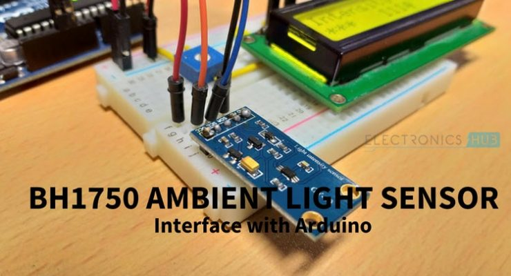 BH1750 Ambient Light Sensor Module with Arduino Featured Image