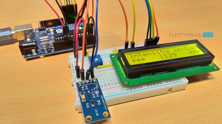 BH1750 senzor za ambijentalno osvjetljenje s Arduino Slika 1