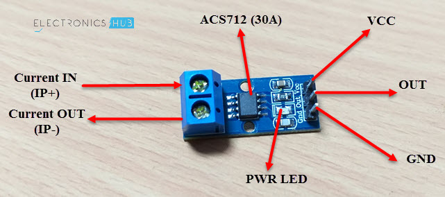 Interfacing ACS712 Current Sensor with Arduino - Measure Current