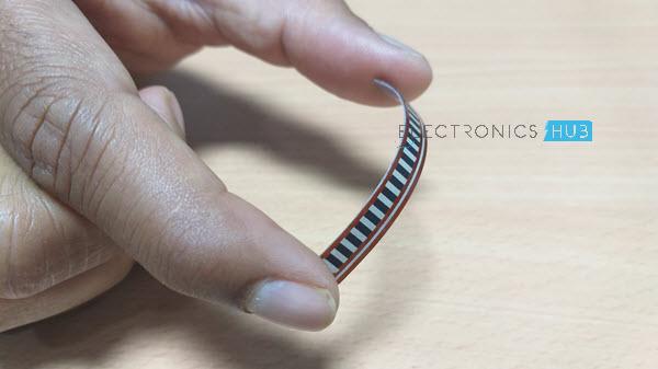 Interfacing Flex Sensor with Arduino Flex Sensor Bend