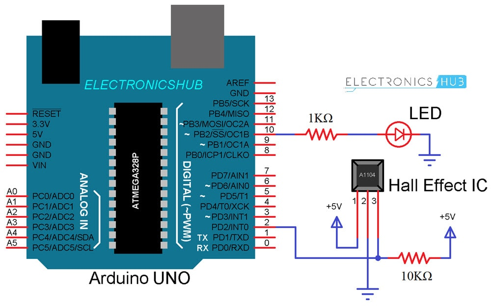 How To Use Hall Effect Sensor With Arduino