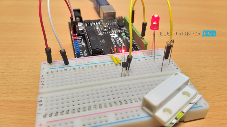 Interfacing Hall Effect Sensor with Arduino LED