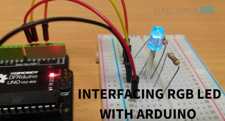 RGB LED with Arduino