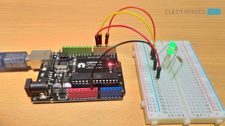 RGB LED with Arduino Image 1