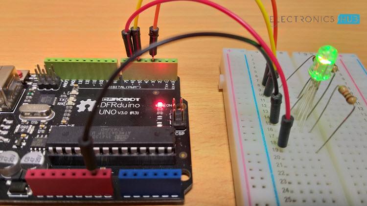 RGB LED with Arduino Image 2