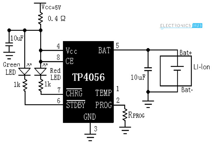 usb mobile charger circuit diagram electronicshuborg