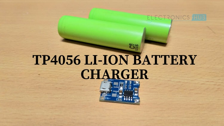 Schematic Of The Liion Battery Charger Circuit