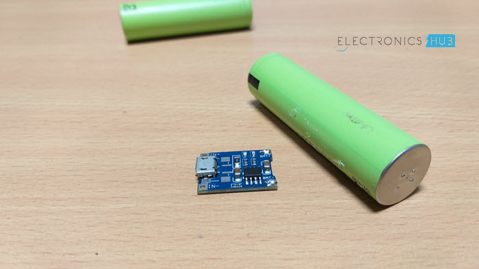TP4056 Lithium Ion Battery Charger Module Image 1
