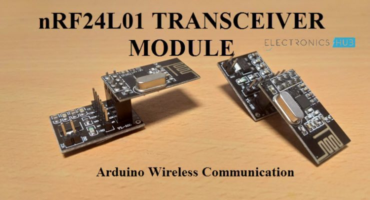 nRF24L01 Transceiver Module Featured Image