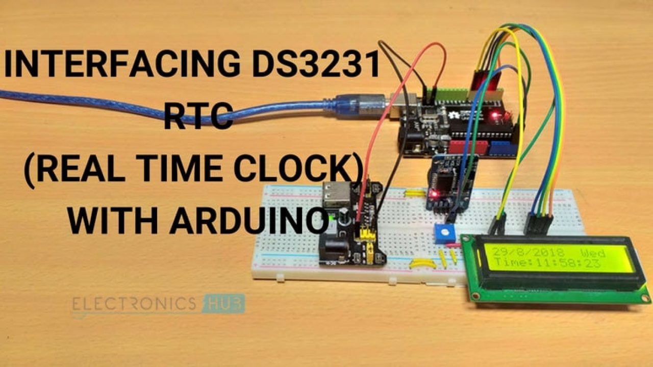Arduino DS3231 RTC Module Tutorial - Real Time Clock