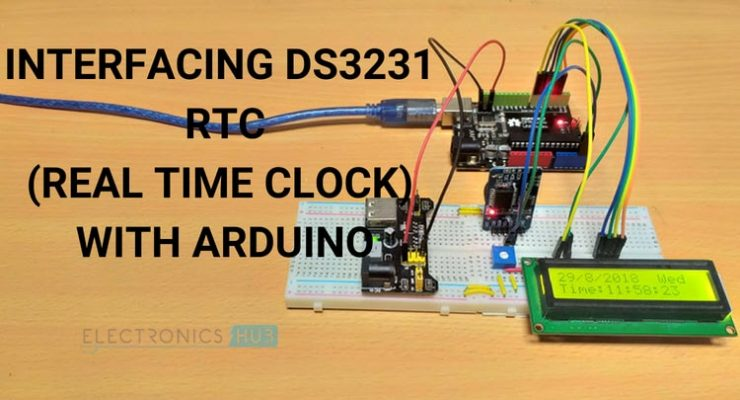 Arduino DS3231 RTC Module Tutorial Featured Image