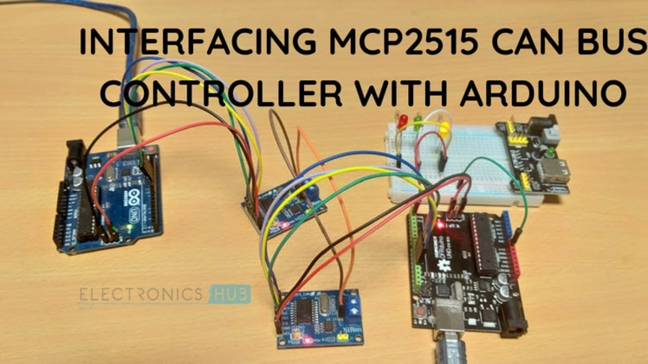 Arduino MCP2515 CAN Bus Interface Tutorial - CAN Protocol